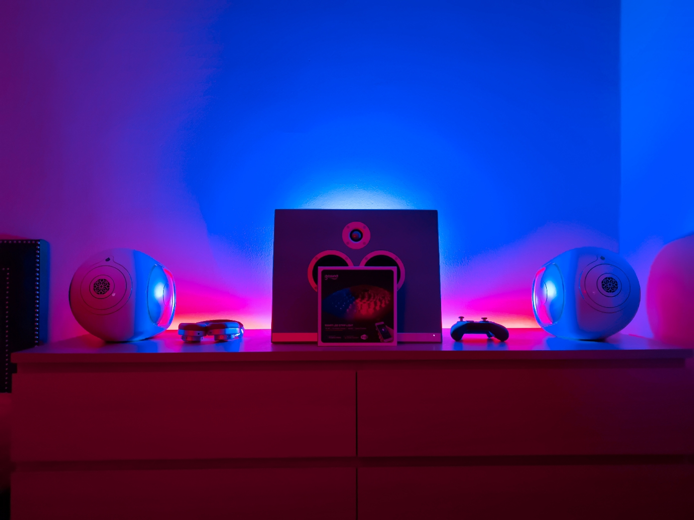 A Google Assistant-powered smart LED strip with 16 million hues gets a value drop