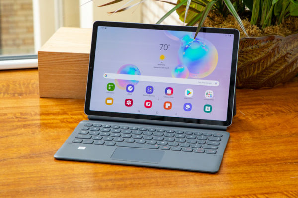 Samsung Galaxy Tab S6 Lite everything except affirmed to be in transit